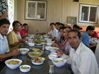 Jyotee at lunch with Daecheon Tour Group.JPG