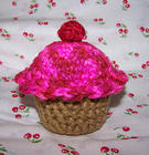 Knitted Cupcake!