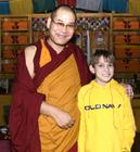 Ven. Phagyab Rinpoche and Jack
