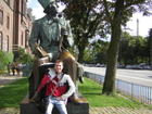 with Hans Christian Andersen
