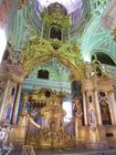 Baroque church interior, Petropavlovsk castle