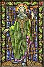 Bridget in stained glass.bmp