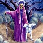Hecate and her hounds.bmp