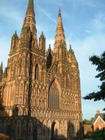 Lichfield Cathedral in all it's glory