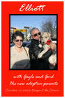 My husband & I with one of our rescues