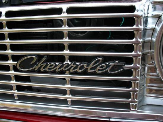 '64 Chevy left front grill w-logo