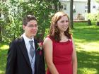 Laura and I, pre-prom