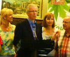 Canadian Liberal Party Leader Stephane Dion with Niagara Riding Federal Paliamentary Candidates