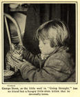 GEORGE STONE - EARLY CHILD STAR