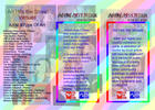 Leaflet for the Acton Art Festival. Frontside.