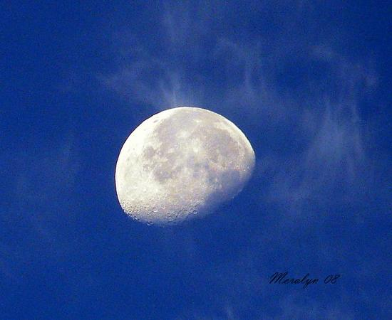 Moon, morning, ehhan, Sept 18-08