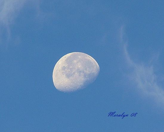 Moon, Morning, I, Sept 18-08