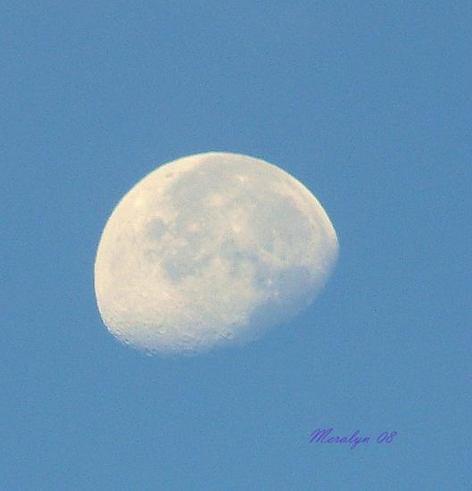 Moon, Morning, Sept 18-08