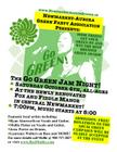 Green Jam Night Poster