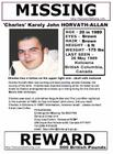 MISSING - Charles Horvath