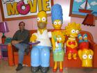 Visiting the Simpsons