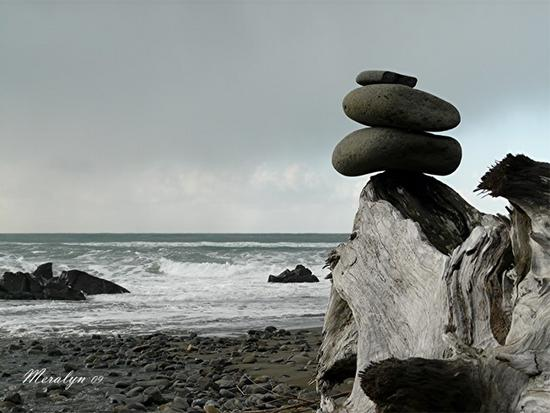 Cairn on Driftwood, Whaleshead