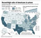 Map with Incarceration Numbers
