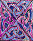 celtic knot coloured