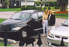 Dreama_ Mom Lucy _amp_ BooBoo At My New PT Cruiser.jpg