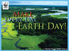 WWF ~ Earth Day