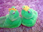 My froggy slippers!