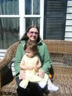My granddaughter and I at Easter