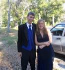 Justin and me before prom 2008