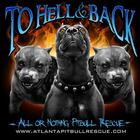To Hell & Back - All Or Nothing Pitbull Rescue T-Shirt.jpg