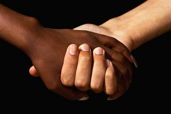 Interracial Hands - Joined for Justice