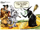 The Wicked Witch of the West - Gary Varvel