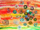 Painting of cells 4