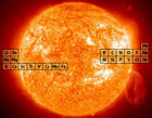 The Sun with the Periodic Table