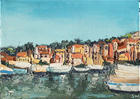 French Port, Oil on Canvas, 5 x 7 in., 2007.JPG