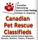 Canadian Pet Rescue Classifieds