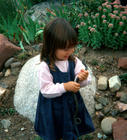 Airie and the Garter Snake, Aspen, Colorado, Summer 1999