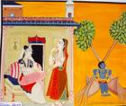 Punishment to Lord Krishna