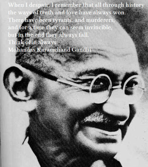 Gandhi On Tyrants