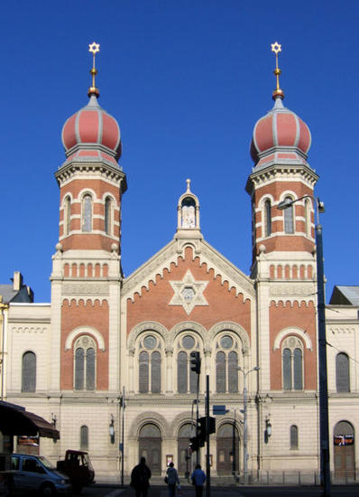 The Great Synagogue of Plzen, W Bohemia