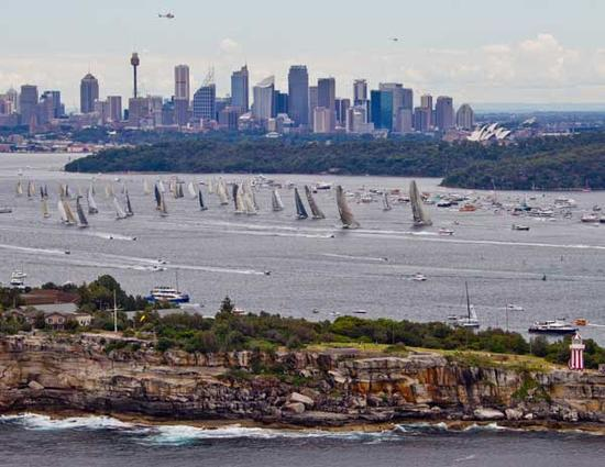 Start of the 66th Rolex Sydney Hobart Yacht Race