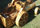 This Steam Engine is made from timber...and works perfect.