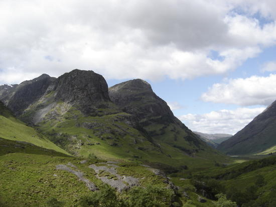 Glencoe, valley view