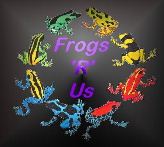 Frogs 'r' Us.