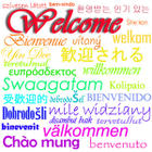 welcome multilingual