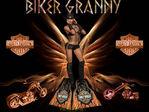 Raven BikerGranny