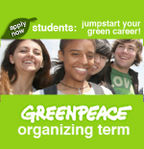 Greenpeace Organizing Term