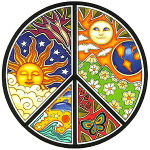Peace Rainbowman