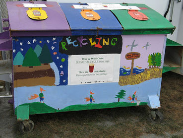 5 Cool Recycling Dumpsters with Artistic Flair - Care2 News Network