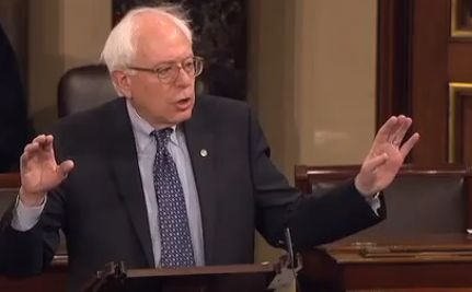 The 'Filibernie' - Sen. Sanders' 8.5 hour argument against Obama/GOP Tax Deal