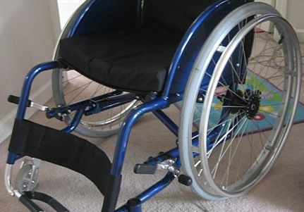 Man's Wheelchair